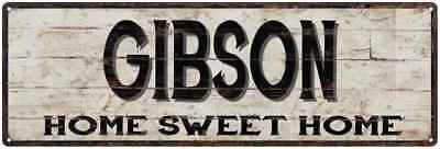 THE GIBSON FAMILY KITCHEN Personalized Chic Metal Sign 106180039120