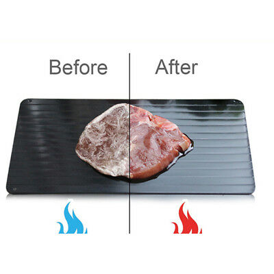 Aluminum Thawing Plate Fast Defrosting Tray Defrost Meat For Thaw Frozen Food