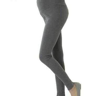 Maternity Clothes Pants Care Belly Leggings for Pregnant Plus Size Solid Thin Tr