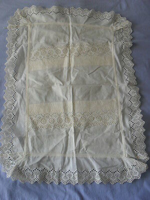 Lovely Vintage Tablecloth (Small)