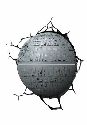 Star Wars Death Star 3D Wall Light