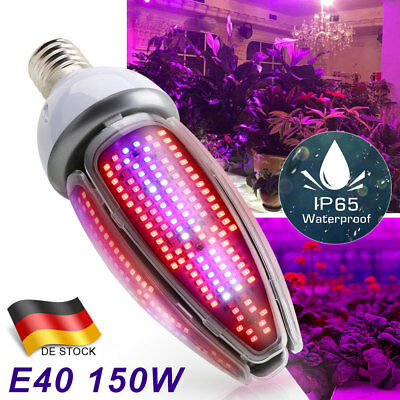 E27 E40 LED Grow Light 100W 150W Full Spectrum Wachsen Licht Pflanzenlampe Birne