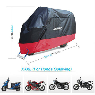 MAXTUF Motorcycle Cover Motorbike Water Proof Cruisers Touring Outdoor Universal
