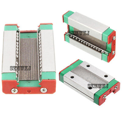 Steel MGN12H 46*27*10mm Linear Sliding Block for MGN12 Linear Guide DIY CNC XYZ