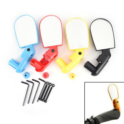 Bicycle Mirror Cycling Road Mountain Bike Manillar Rear Rotate Mirror v