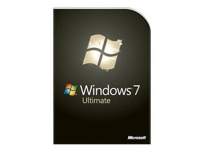 Windows 7 Ultimate 32/64bit Full Version Activation Key.