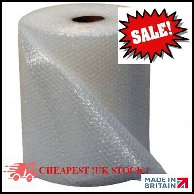 MS PACKAGING branded 500MM x 100M SMALL BUBBLE WRAP CUSHIONING QUALITY BUBBLE