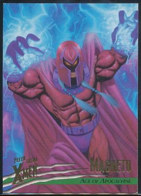 1996 X-Men Ultra Wolverine Trading Card #87 Magneto