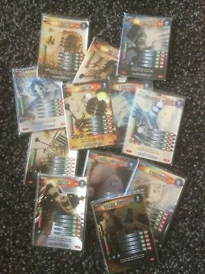Dr Who - Battles in Time - Dalek v Cybermen (DvC) - Pick 2 Common cards you need