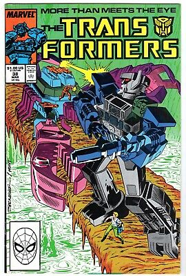 Transformers #38, Near Mint Minus Condition