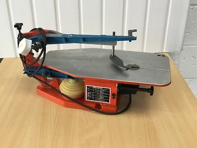 Hegner Scroll Saw - Multicut 1, Single Speed, Good Clean Condition, with Blades