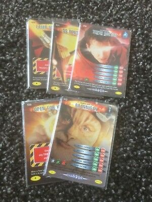 Dr Who - Battles in Time - Invader - Pick 4 Rare cards you need