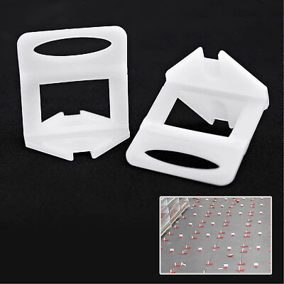 200pcs Tile Leveling System Levelling Clips For Wall Floor Tile Spacer
