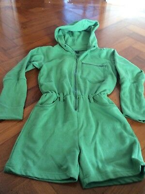 girl Moonkids playsuit 8 years green