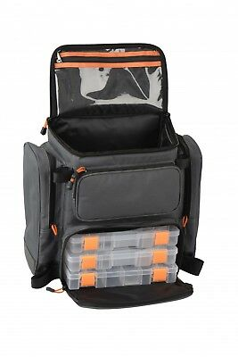 Savage Gear Lure Specialist Angel Rucksack M 40x38x23cm inkl. 3 Tackle Boxen
