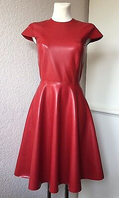 Latex Dress Latexkleid Vintagestyle Rot