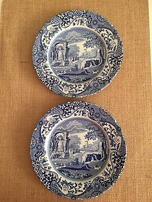 Spode Blue and White Small Plates-Set of 2
