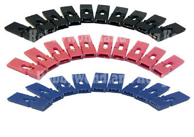 300 pcs Jumper Caps 2.54mm Red Blue Black Header with handle Circuit Board Shunt