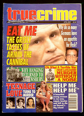 True Crime Magazine April 2004