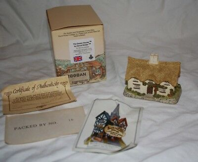David Winter Cottages The Dower House - Includes Original Box & Coa