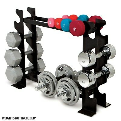 Marcy DBR-56 2-Tier Multiple Dumbbell Storage Rack