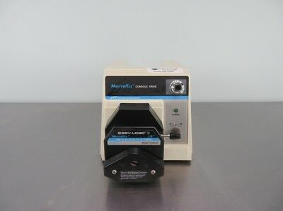 Cole-Parmer Masterflex Console Drive Peristaltic Pump 77521-40 with Warranty