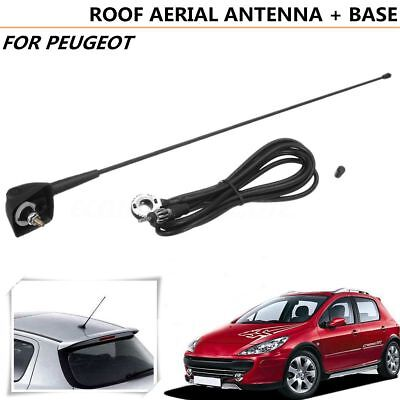 Roof Aerial Antenna & Mount 045511 For Peugeot 106 205 206 306 307 309 406 806