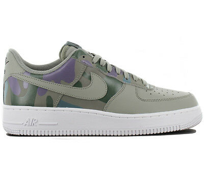 the best attitude 1f2ff 22f63 Nike Air Force 1 Low 07 LV8 Sneaker Scarpe Uomo pelle Oliva 823511-008 Nuovo