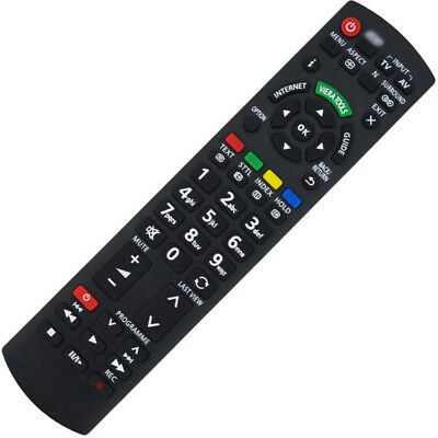 Replacement Remote Control for Panasonic Viera Smart TV N2QAYB0003502 Practical