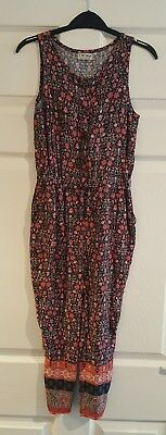 NEXT 7 Years Girls Jumpsuit Playsuit VGC Floral Worn Once Summer Holiday Party