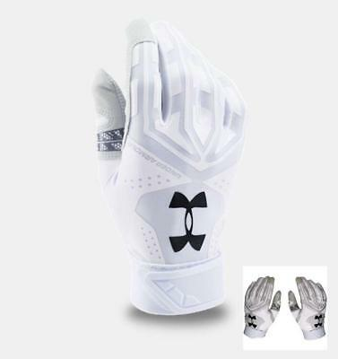Under Armour Mens Motive Undeniable Pair of Small Batting Gloves 1267429-100