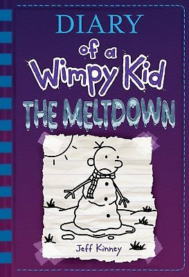 The Meltdown Diary of a Wimpy Kid Book 13 Hardcover, 2018 by Jeff Kinney