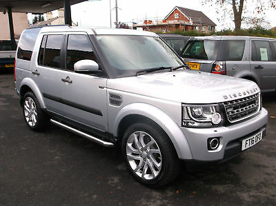 2016(16) Land Rover Discovery 3.0SDV6 ( 255bhp ) auto 2016.5MY SE Commercial