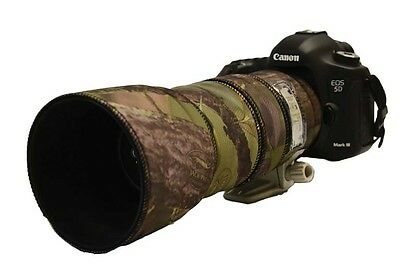 Canon 100 400mm IS MK1 Neoprene Lens Protection Camouflage Cover Woodland camo