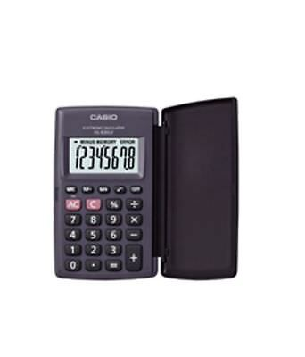 CASIO HL-820LV HL820LV CALCULATOR - Large Display, Pocket size - WITH COVER