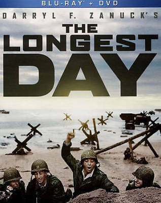 The Longest Day - Blu-Ray and DVD combo - New