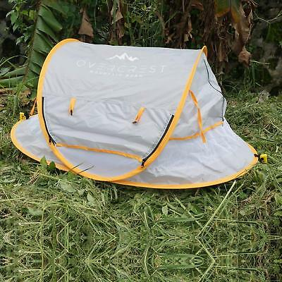 Overcrest Pop Up Baby Beach Tent Portable Sun Shade Shelter Crib Camping