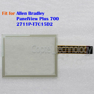 New Touch Screen Glass for Allen Bradley PanelView Plus 700 2711P-T7C15D2
