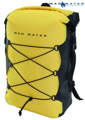 Mad Water – Classic Roll Top Waterproof Backpack 30L Yellow M43105 Dry Pack