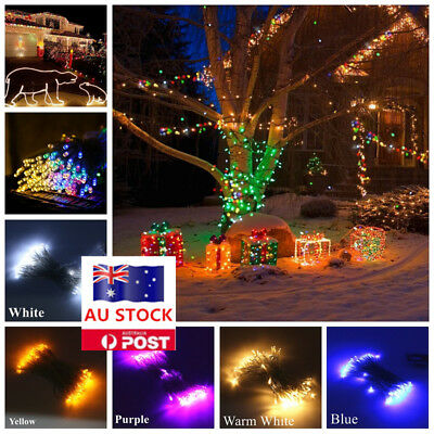 1/10 M Battery Operated LED Fairy String Lights Xmas Wedding Party Decor Lamp