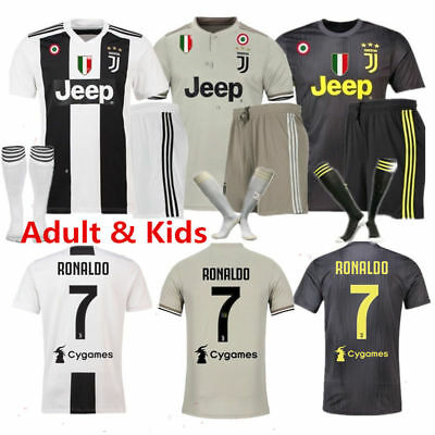 2dc3f6f6d 1819 Kids Football Strips Team Outfit Youth Soccer Kit Christmas Customized  Gift