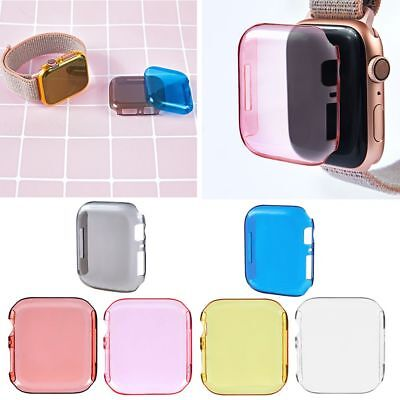 Para Apple Watch Series 4 iWatch Duro Pantalla Protector Ultra Fina Case 40/44mm