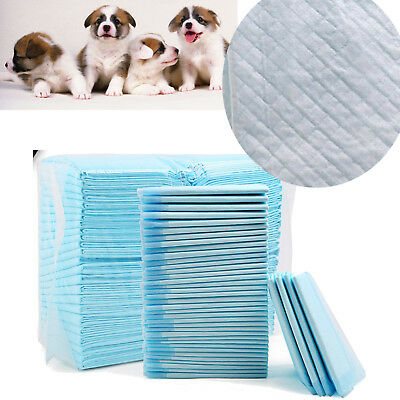 100PCS Dog Cat Puppy Pet Leak proof liner Wee Pee Super Absorbent training Pads