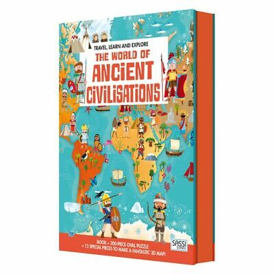 Travel, Learn, & Explore the World of Ancient Civilisation, Puzzle & Book Set
