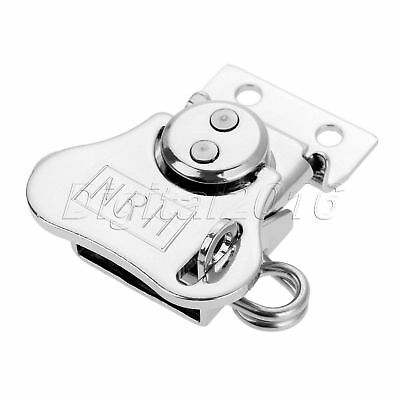Metal Iron Box Clip Lock Butterfly Toggle Latch Catch Hasp Clasp Chest Lockable