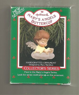 1988 Hallmark Ornament   Buttercup  #1  Mary's Angels