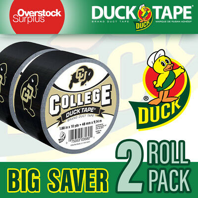 Duct Tape Duck High Performance 1.88 inch 30 feet - College Colorado (2 PACK)
