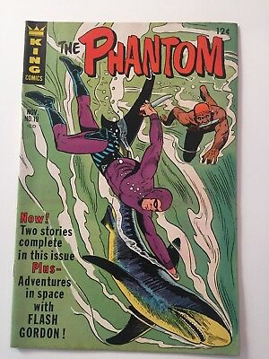 The Phantom  #19 Silver Age Comic Book (King Comics, 1966) Nice! See Photos!