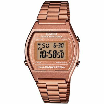 Casio Classic Retro Digital Watch B640WC-5A - Rose Gold