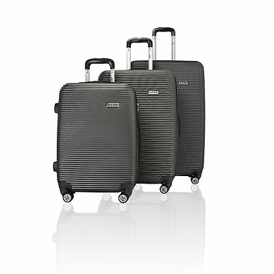 ATM Wave Collection 3 PIECE PREMIUM ABS LUGGAGE SET